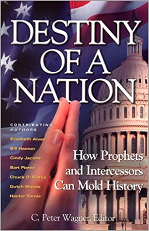 Destiny of a Nation Paperback – November 1, 2001 by Elizabeth Alves (Author), Hector Torres (Author), Dutch Sheets (Author), Chuck D. Pierce (Author), Bart Pierce (Author), Cindy Jacobs (Author), Bill Hamon (Author), C. Peter Wagner (Author)