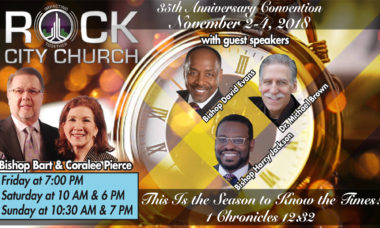 Rock City Church 35th Anniversary Convention