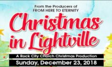 Christmas Production Flyer