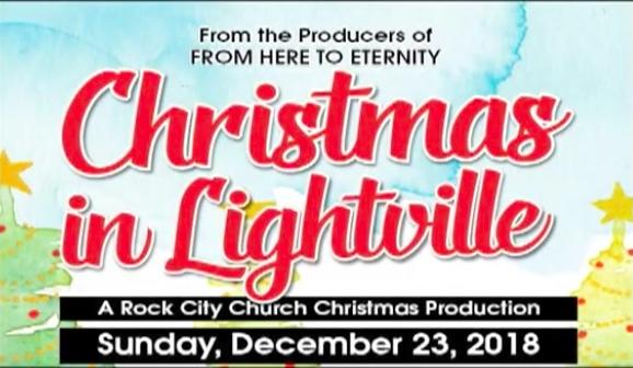 Christmas Production Flyer