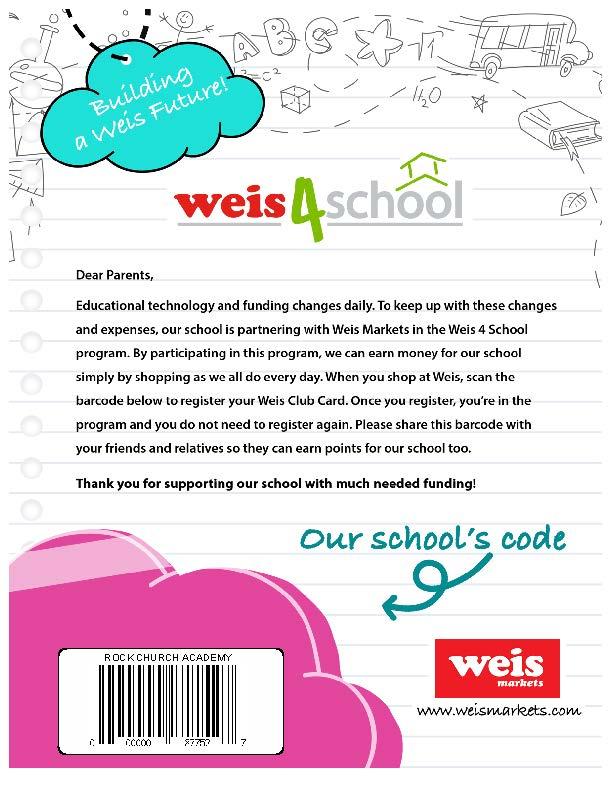 Weis 4 School barcode